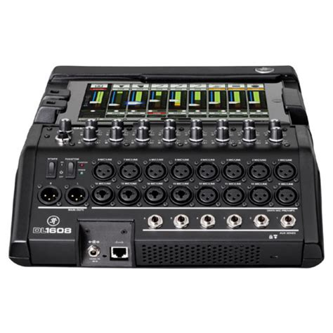 Mixer Audio Digital mackie dl1608 16 channel digital live sound mixer with