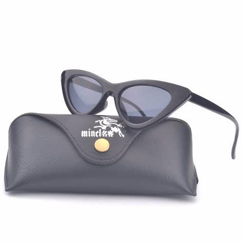 K Sq Black Cat Big Size mincl sunglasses cat s eye small big size vintage retro black cat eye sun glasses for