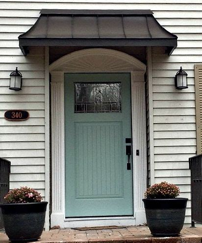 Front Door Awnings by 1000 Ideas About Front Door Awning On Metal
