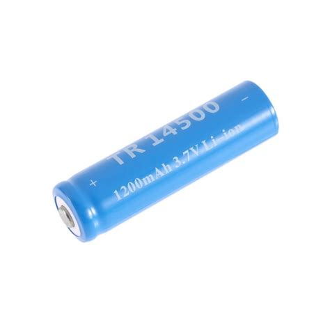 Battery Li Ion 14500 1200 Mah 4x 3 7v 1200mah tr 14500 li ion rechargeable battery for ultrafire flashlight sw3