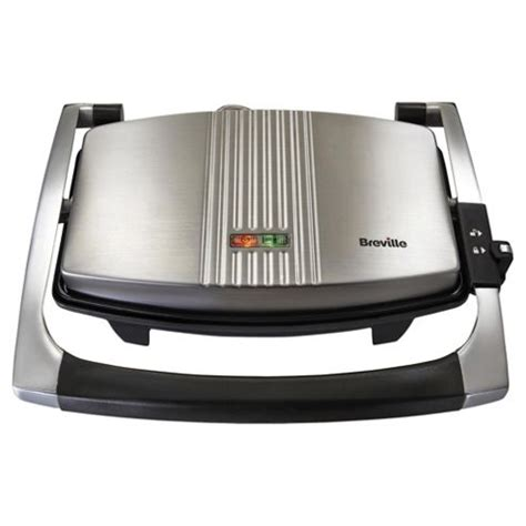 Sandwich Toaster Reviews Uk Breville Vst025 3 Slice Sandwich Toaster Stainless Steel