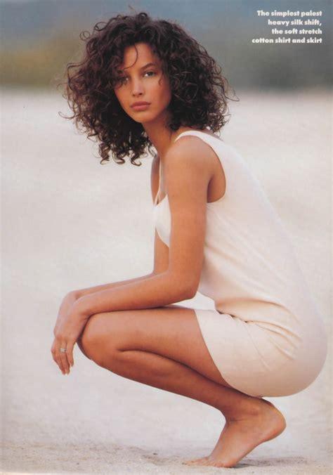 pics of christy turlington when she had short hair 285 b 228 sta bilderna om lifestyle female p 229 pinterest