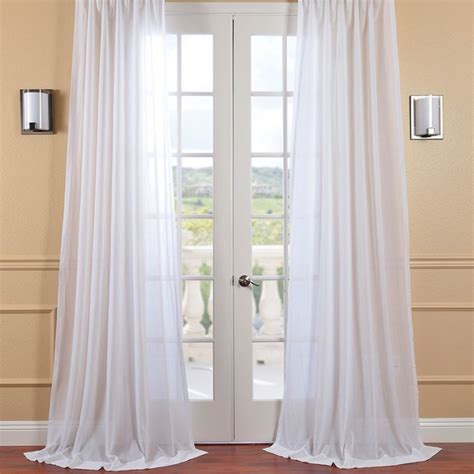 sheer linen drapery panels exclusive fabrics and furnishings white orchid faux linen