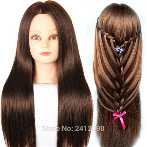 hairstyles to do on manikin 60cm cosmetology mannequin head for hairdresser