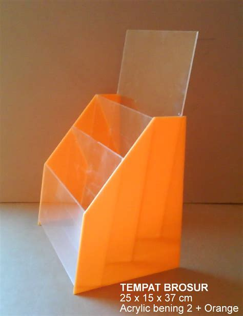 Acrylic Tempat Brosur tempat brosur tb o9 acrylic akrilik acrylic display