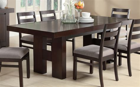 coaster dining room table coaster furniture 103101 dabny dining table cappuccino