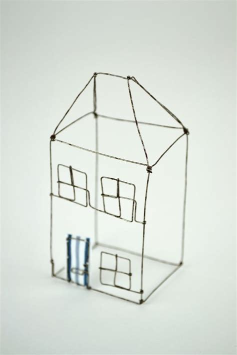 Small Wire House Louise Dawn Wilson Wired For Art Pinterest House And Wire