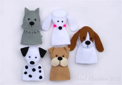 free felt craft patterns dog puppet pattern images of