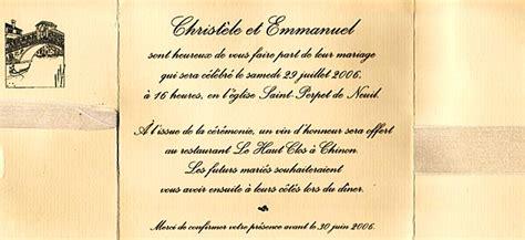 Modèle De Lettre D Invitation Pour Un Mariage Exemple Faire Part Mariage Rigolo Document