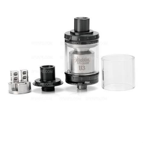 Ud Goblin Mini V3 Rta 22mm Authentic authentic youde ud goblin mini v3 rta 2ml 22mm black atomizer