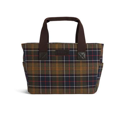 barbour womens morar tote bag classic tartan