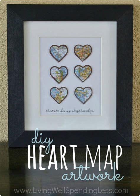 sentimental gift ideas for boyfriend diy map living well spending less 174