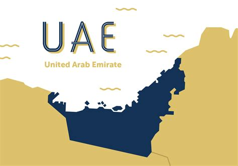 UAE Map Vector   Download Free Vector Art, Stock Graphics & Images