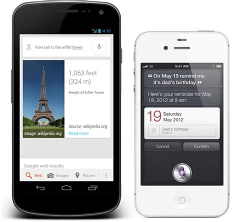 does android siri s voice search vs apple s siri who do you think wins talkandroid