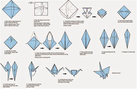 tutorial origami gru papiroflexia en la escuela grulla