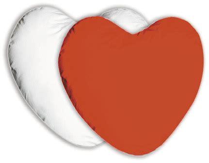 cuscino cuore gadget personalizzati