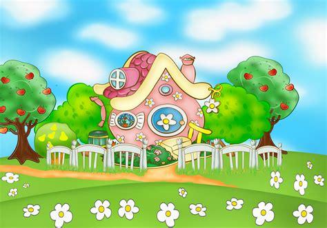 wallpaper cartoon home beautiful house in the cartoon kikoriki wallpapers and