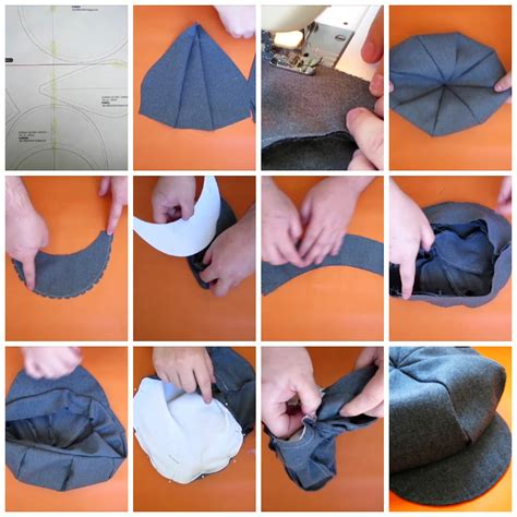 patrones para boinas de tela bebe diy gorra gatsby coser es f 225 cil