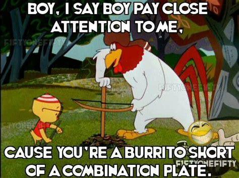 Foghorn Leghorn Meme - 125 best boy i say boy images on pinterest cartoon