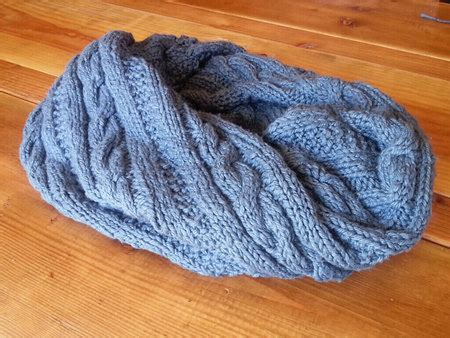 pre twisted yarn the magical twisted cowl knitting pattern for pre