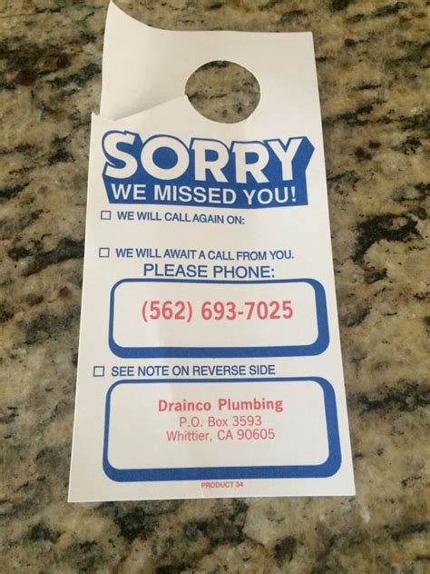 Plumbing Service Whittier Ca by Drainco Plumbing 95 Reviews Plumbing 9826 Painter Avenue Whittier Ca United States