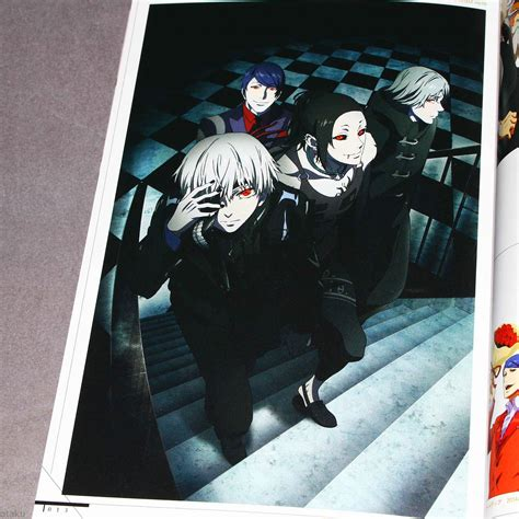 anime books uk tokyo ghoul official anime book new ebay