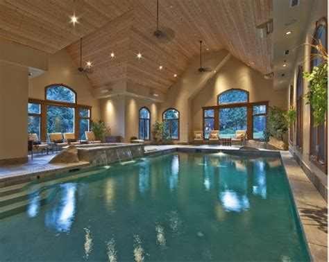 indoor pool house a look at some indoor swimming pools from houzz homes of the rich