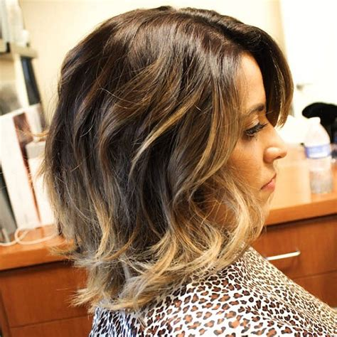 sombre short hairstyles sombre hair color get inspiration for your next salon
