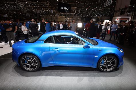 alpine a110 lightweight alpine a110 coupe detailed gets a 247hp 1 8lt