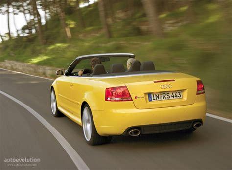 audi convertible 2006 audi rs4 cabriolet 2006 2007 2008 2009 autoevolution