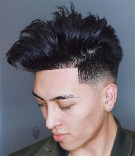 asian combover with short sides cool men s medium length haircuts 2018