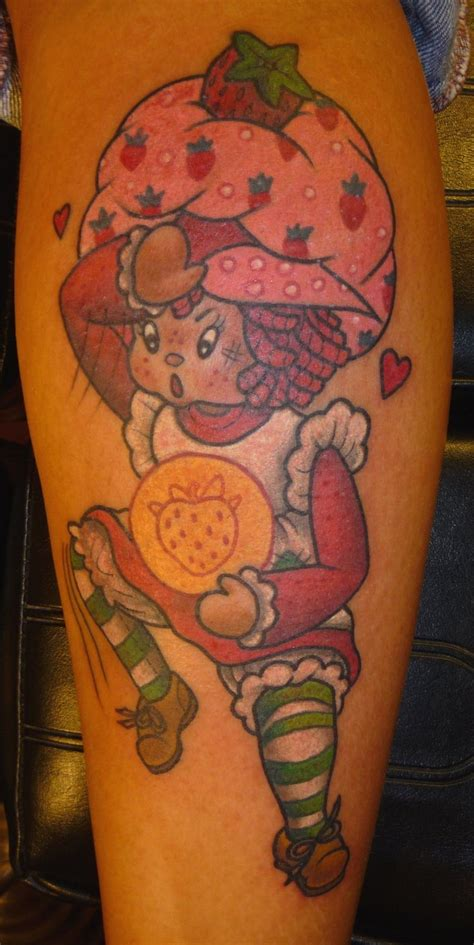 strawberry shortcake tattoo designs strawberry shortcake by jbrettprince on deviantart