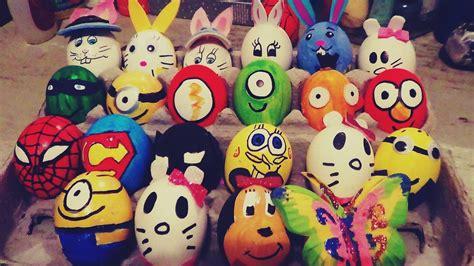 huevos decorados de emojis decora huevos de pascua f 193 cil y r 193 pido youtube