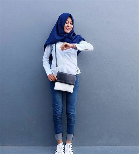 Wanita Oversize 18 model baju muslim terbaru 2018 desain simple casual
