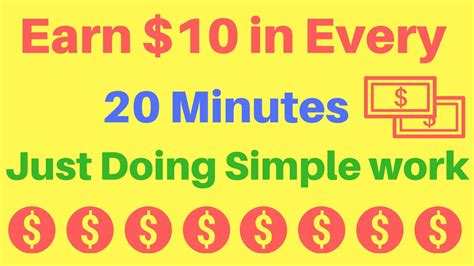 Make Money In Minutes Online - earn 10 in every 20 minutes most easiest way to make money online in 2017 course