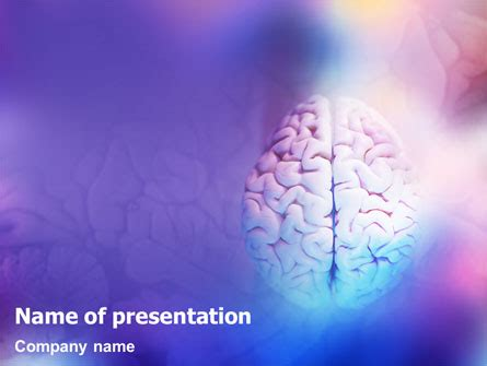Brain Powerpoint Template Backgrounds 01606 Poweredtemplate Com Brain Ppt Template