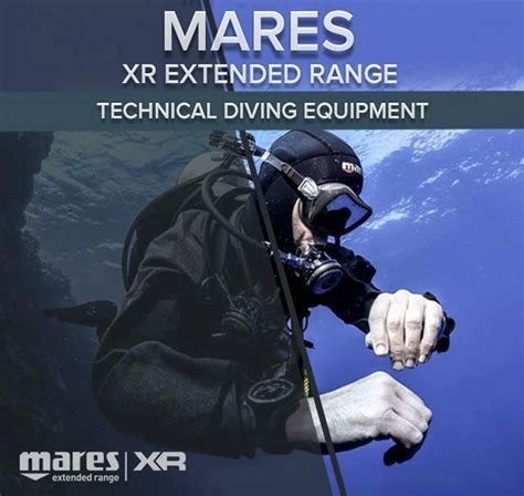 mares dive equipment mares xr extended range from the scuba doctor