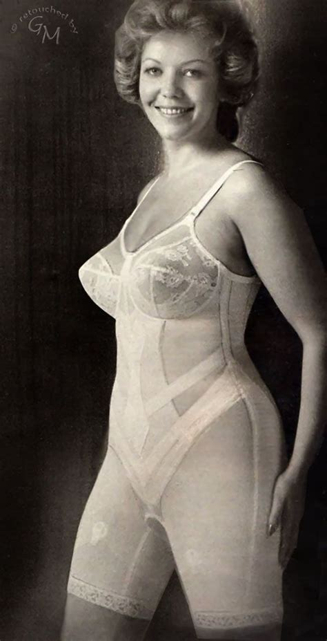 Vintage Girdle | unknown source retouched 169 girdlemaster vintage