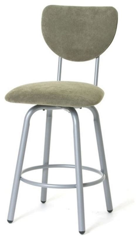 high back swivel bar stools transitional high back swivel stool counter height 26