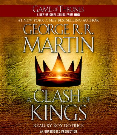 libro a clash of kings a clash of kings by george r r martin penguin random house audio