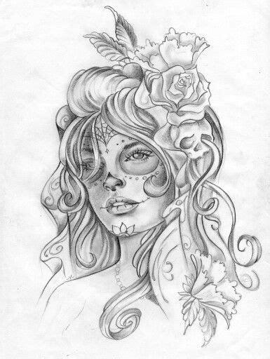 la catrina tattoo inspirations pinterest la catrina