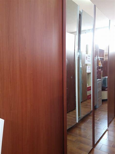 armadio scorrevole 4 ante armadio scorrevole 4 ante 3 60 m ciliegio e vetro