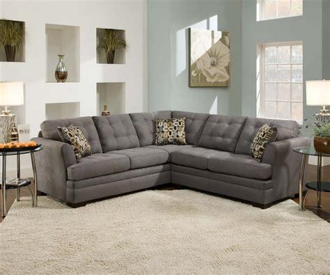 simmons velocity microfiber sofa united simmons velocity sectional aim rental