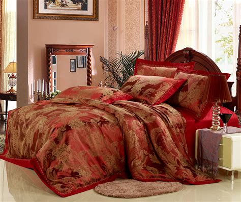 satin bedding sets hot luxury silk cotton satin bedding set jacquard