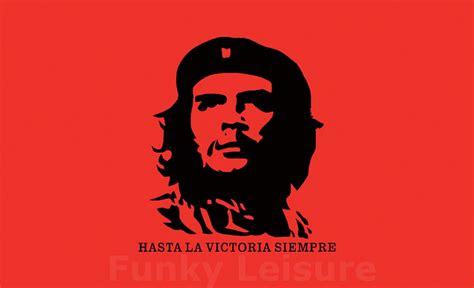 che guevara flag hasta la victoria siempre