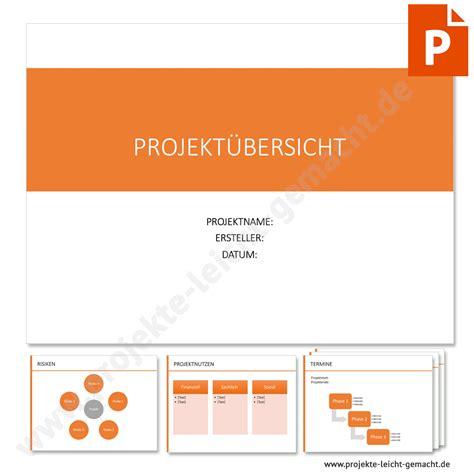 vorlage projektsteckbrief projektmanagement vorlagen und