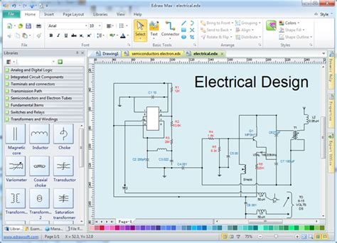 home design software electrical electrical design software