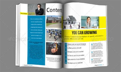 business magazine layout design 10 creative business brochure templates for companies and