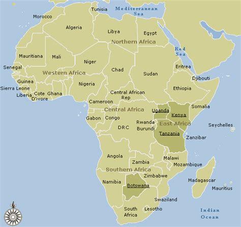 africa map tanzania tanzania map and tanzania satellite images