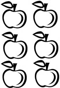 Apple Template Printable by Printable Apple Crown